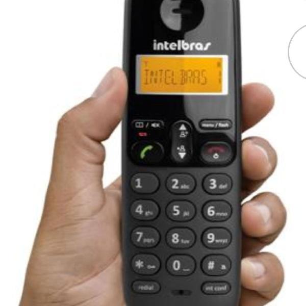3 telefones sem fio intelbras ts3110