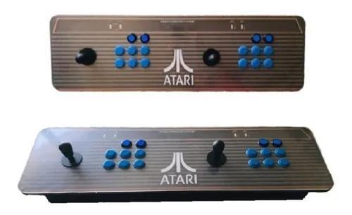 Arcade fliperama portátil controle duplo - loja fisica