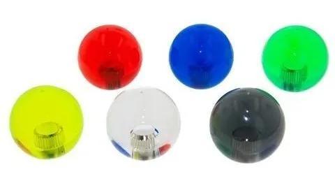 Ball top lb35-c original sanwa transparente