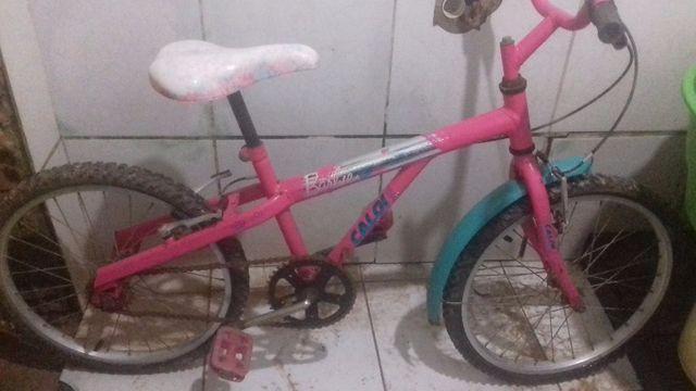 Bicicleta caloi infantil usada