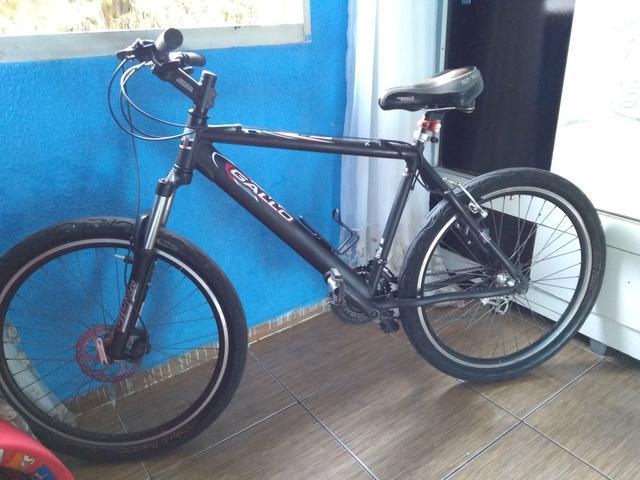 Bicicleta gallo toda shimano boa pra trabalhar