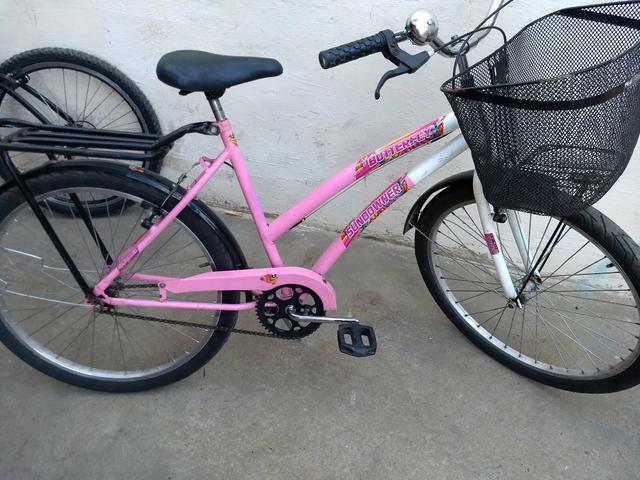 Bicicleta feminina aro 26 em perfeito estado revisada