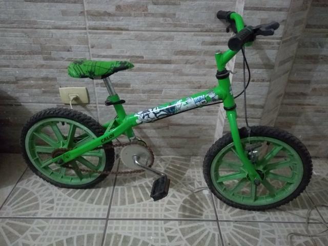 Bicicleta infantil caloi aro 16 ben 10