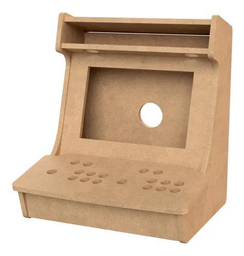 Caixa Arcade Fliperama Mdf 15mm + Personalização + Rasgo T