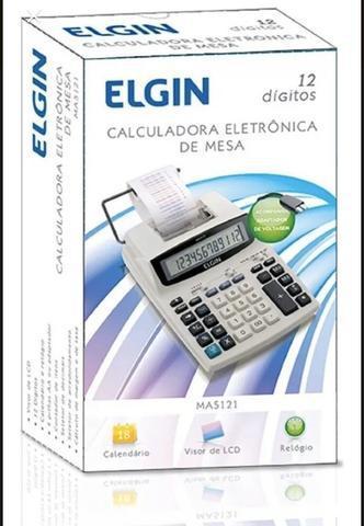 Calculadora com impressora elgin- nova