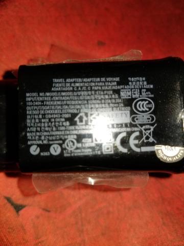 Carregador original samsung 5v 2.0a para tablet ou celular