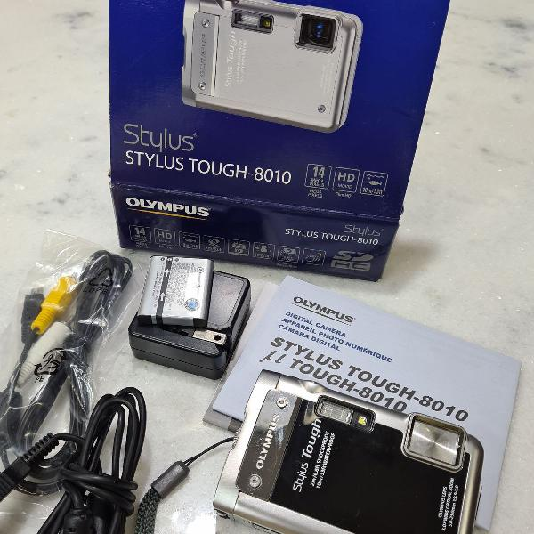 Câmera olympus stylus tough 8010
