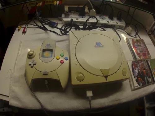 Console dreamcast + 3 jogos originais