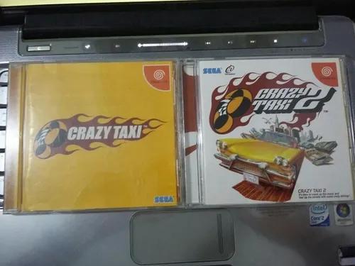 Crazy táxi 01 e 02 originais - sega dreamcast