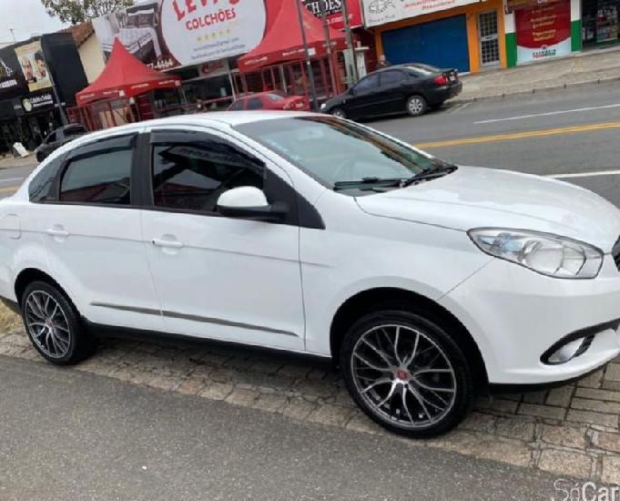 Fiat siena essence 1.6 flex 2014 branco completo 80 mk