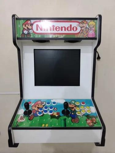 Fliperama arcade + console c/ + 3000 jogos