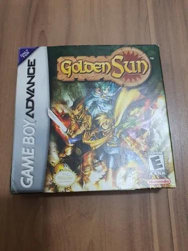 Golden sun - gba - completo - americano