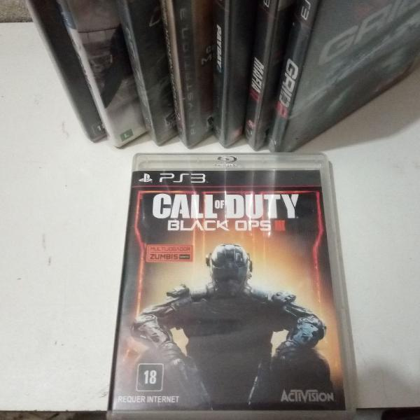 Jogo ps3 - call of duty black ops 3