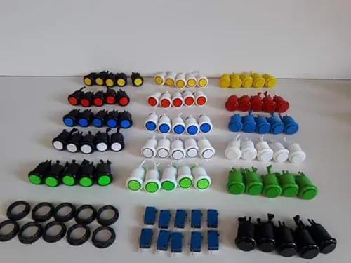 Kit 20 botoes + 02 placa zero delay