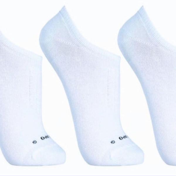 Kit 3 pares de meia soquete
