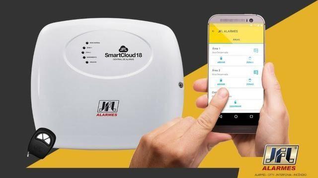 Kit alarme com 4 sensores + instalação (r$ 690,00)