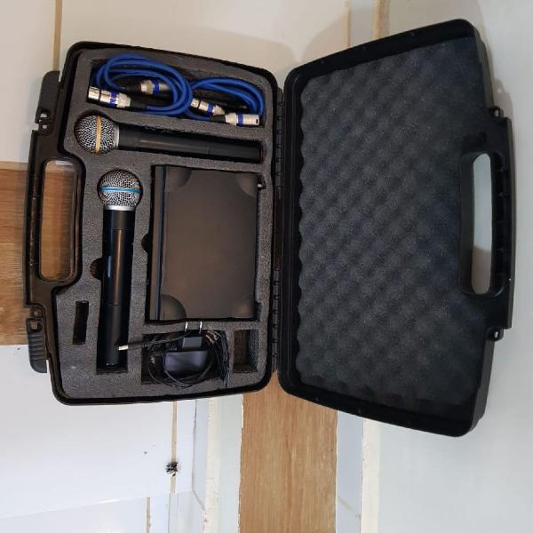 Kit de microfones lyco uh-02mm