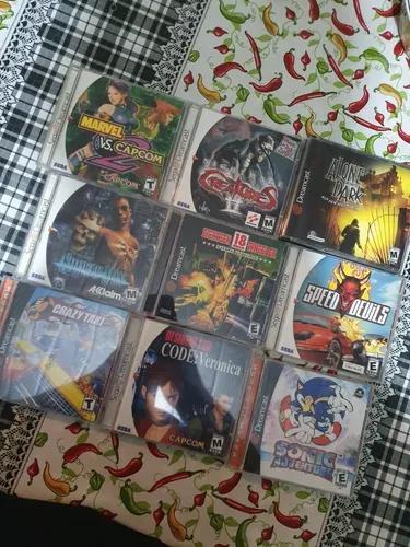 Lote Jogos Dreamcast