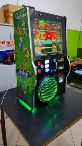 Maquina de musica jukebox heineken 200rms top