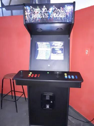 Maquina fliperama multi jogos + de 2000 pra uso comercial