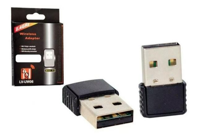 Mini adaptador wifi wireless receptor usb nano pc notebook