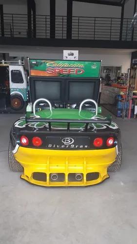Máquina esportivo simulador de corrida arcade calif.speed