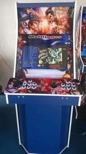 Máquina multijogos 2600 jogos arcade 22