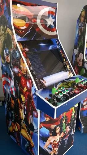 Máquina multijogos 2600 jogos arcade 22 com ficheiro