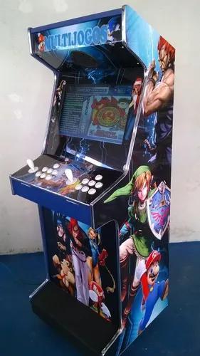 Máquina multijogos arcade 22 polegadas 1299 jogos