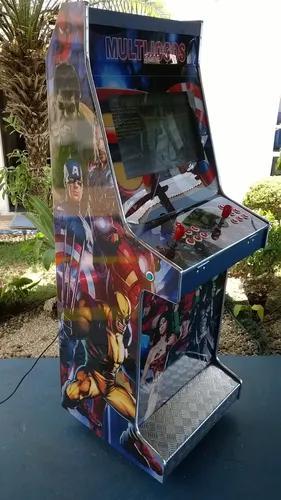 Máquina multijogos arcade 5000 jogos 21 sist