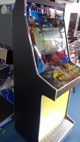 Máquina multijogos pandora 2600 jogos arcade 22