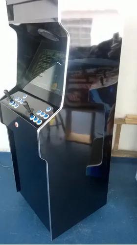 Máquina multijogos retrô 19 arcade 2600 jogos com ficheiro