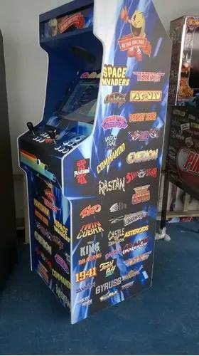 Máquina multijogos retrô arcade 19 polegadas 2600 jogos
