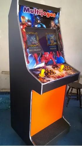 Máquina multijogos tela 19 com 2600 jogos pronta entrega