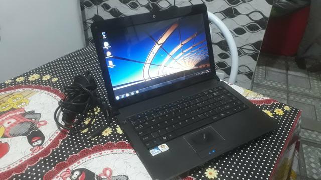 Notebook dual core hd 320 3gb ja formatado
