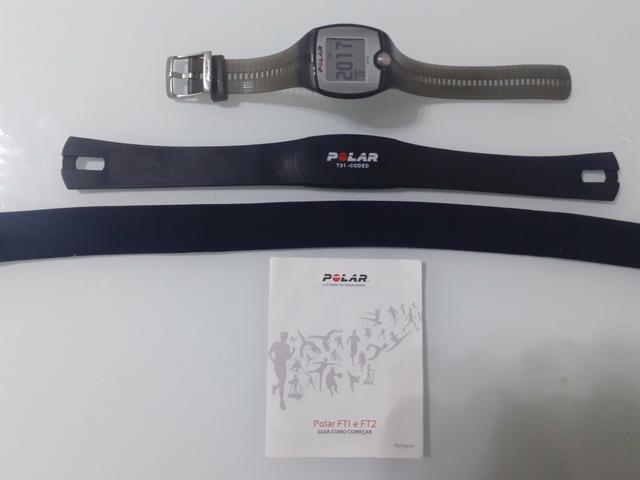 Relógio polar 30m com cinta medidora de batimentos