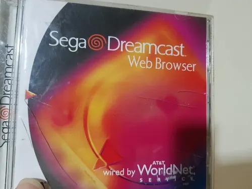 Sega dreamcast web browser usado original completo