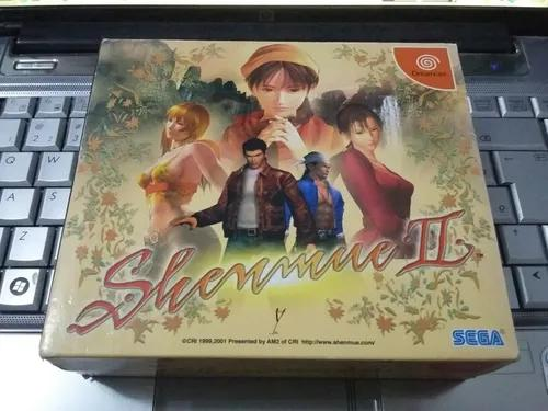 Shenmue 2 original completo - sega dreamcast