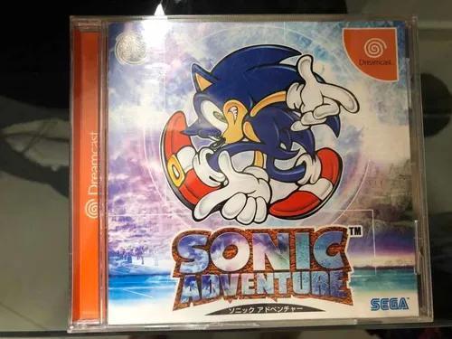 Sonic adventure original japonês para dreamcast