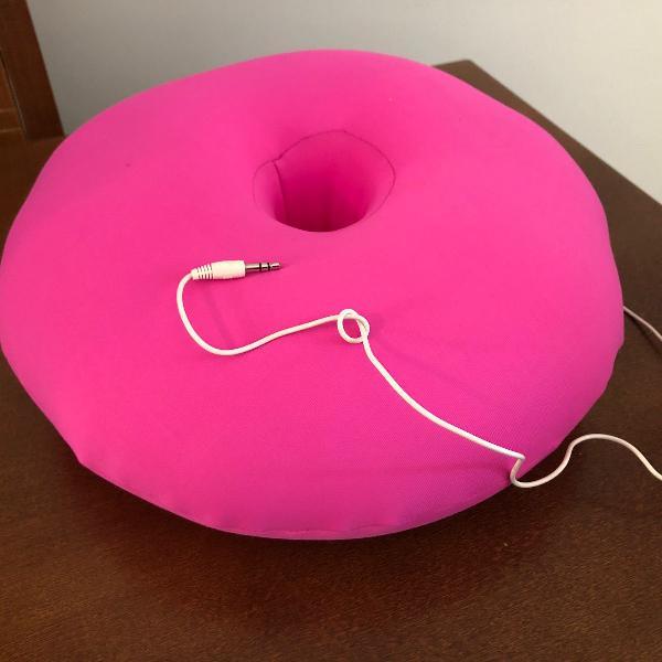 Almofada musical fom - rosa