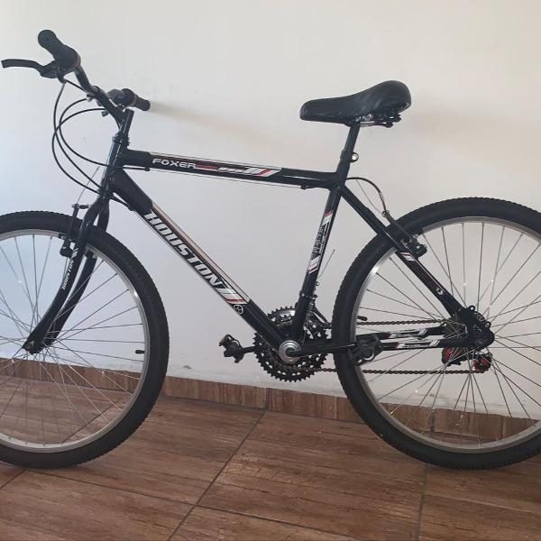 Bicicleta aro 26 houston foxer hammer - freio v-brake 21