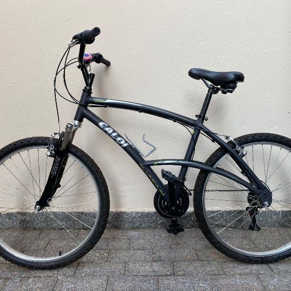 Bicicleta caloi 400 aro de alumínio com amortecedor câmbio