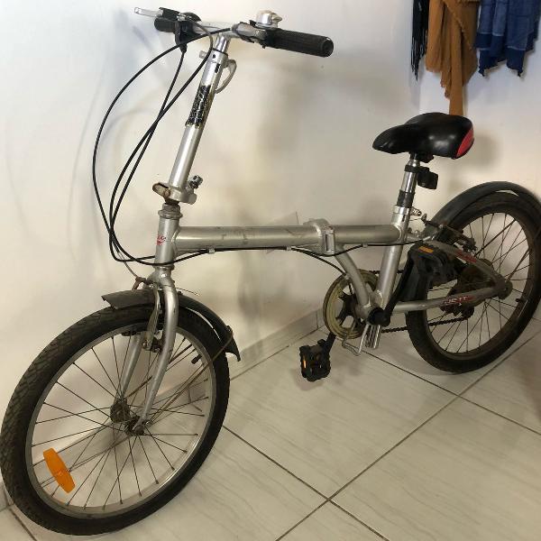 bicicleta dobrável - jett aluminium folding