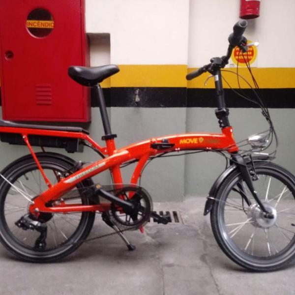 Bike elétrica dobrável move green