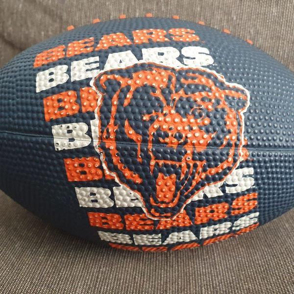 Bola oficial wilson nfl. chicago bears. futebol americano