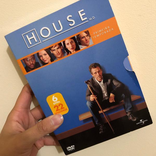 Box de série conhecendo o enigmático dr. house