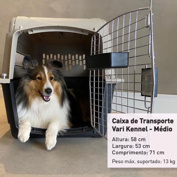 Caixa de transporte vari kennel - médio