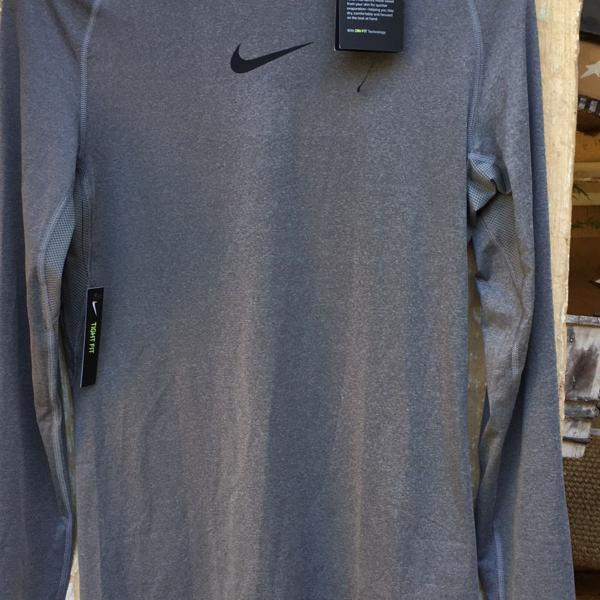 Camiseta manga longa nike pro nova dri-fit