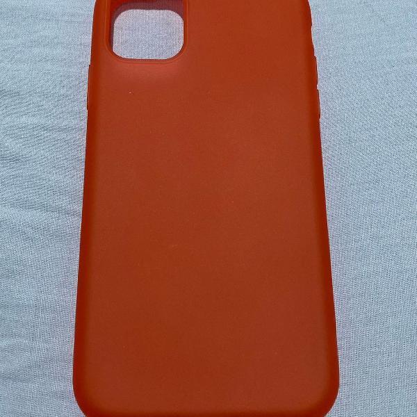 Capa iphone 11 - vermelha anti-impacto