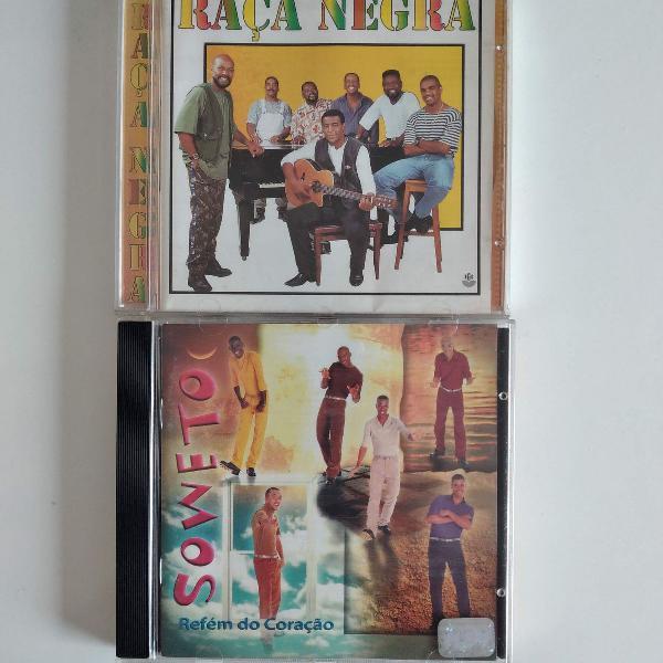 Cd raça negra e cd soweto